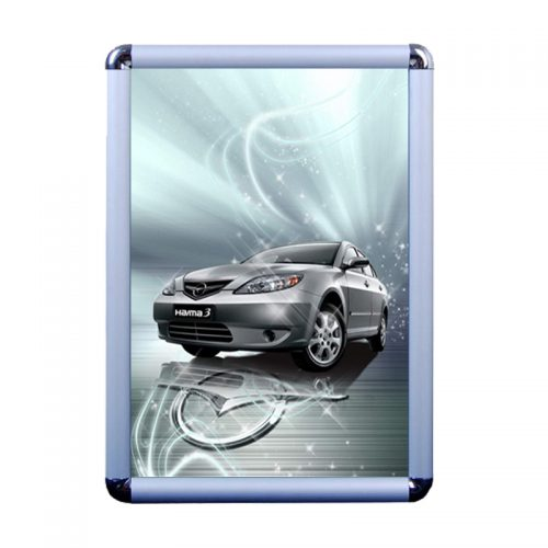Snap Frame - Silver (Round)