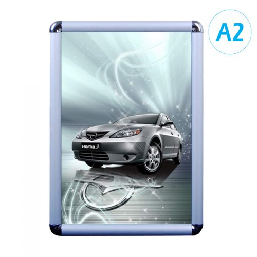 Snap Frame - Silver (Round) - A2