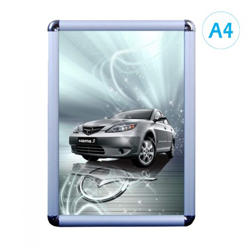 Snap Frame - Silver (Round) - A4