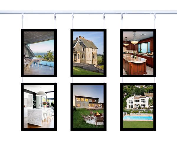Real Estate Kits - LED Window Display - Landscape